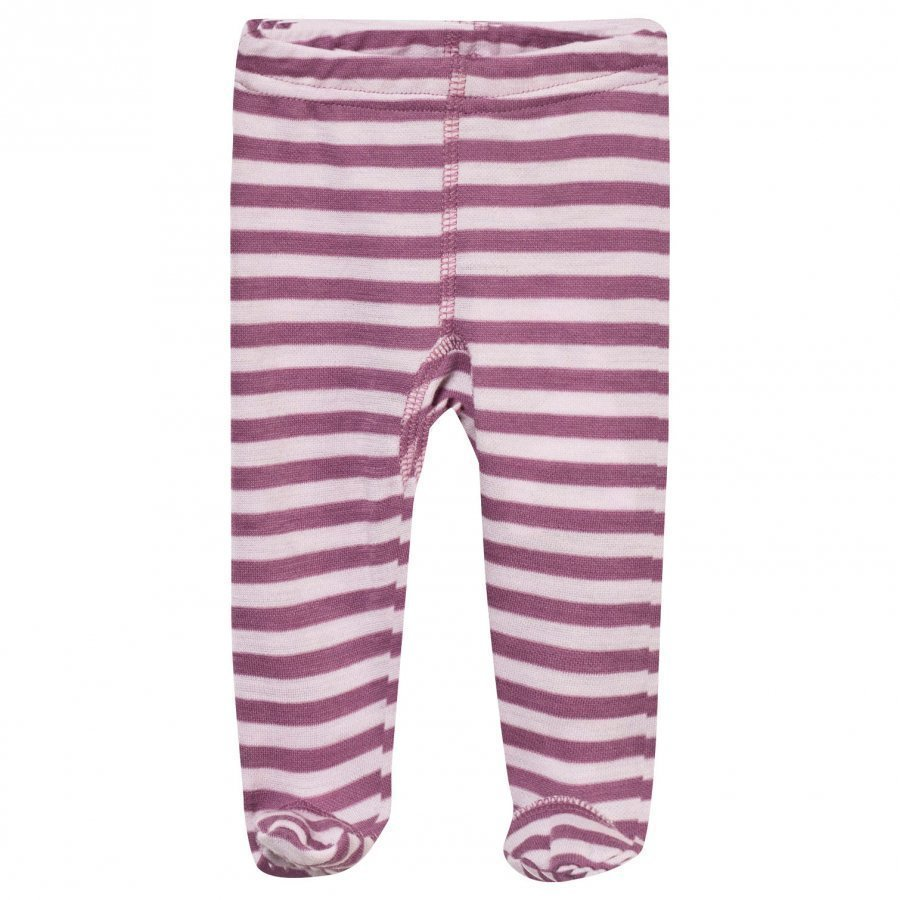 Joha Striped Footed Leggings Pink Legginsit