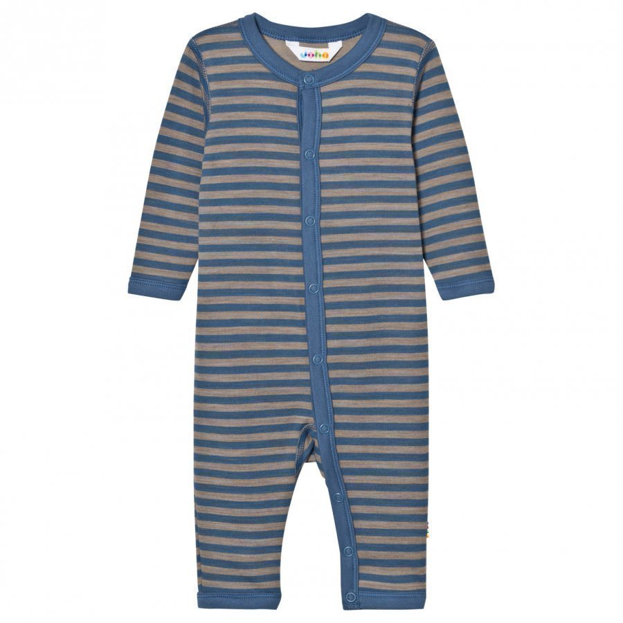 Joha Striped One-Piece Blue Potkupuku