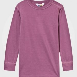 Joha Tee Solid Pink Pusero