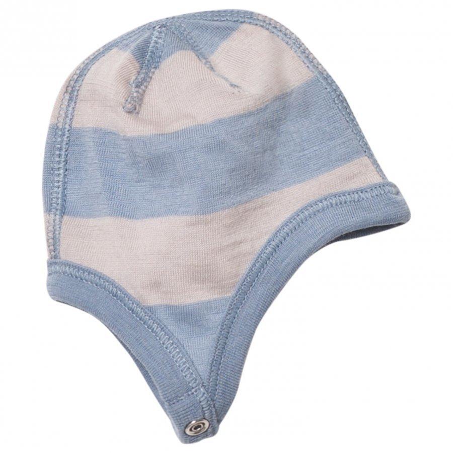 Joha Wide Stripe Hat Blue Pipo