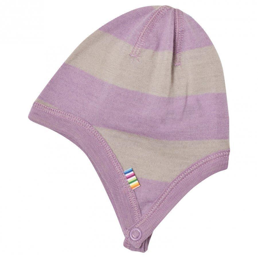 Joha Wide Stripe Hat Purple Pipo