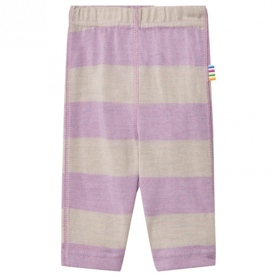 Joha Wide Stripe Leggings Purple Legginsit