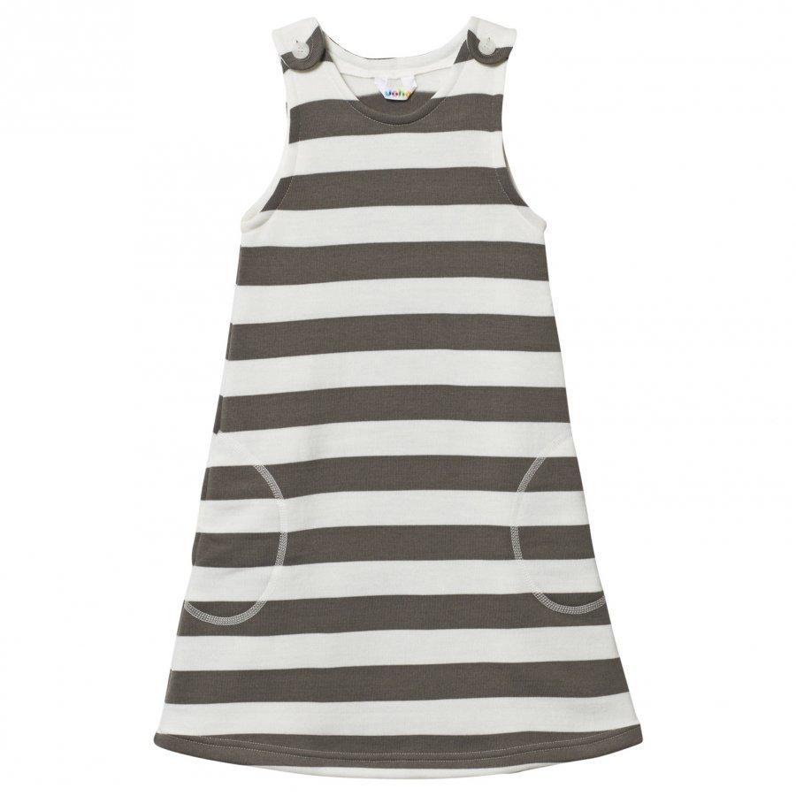 Joha Wool Pinafore Dress Stripes Mekko