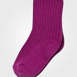 Joha Wool Socks Berry Pink Sukat