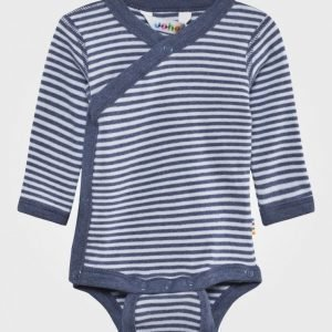 Joha Wrap Around Body Stripe Boy Romper Puku