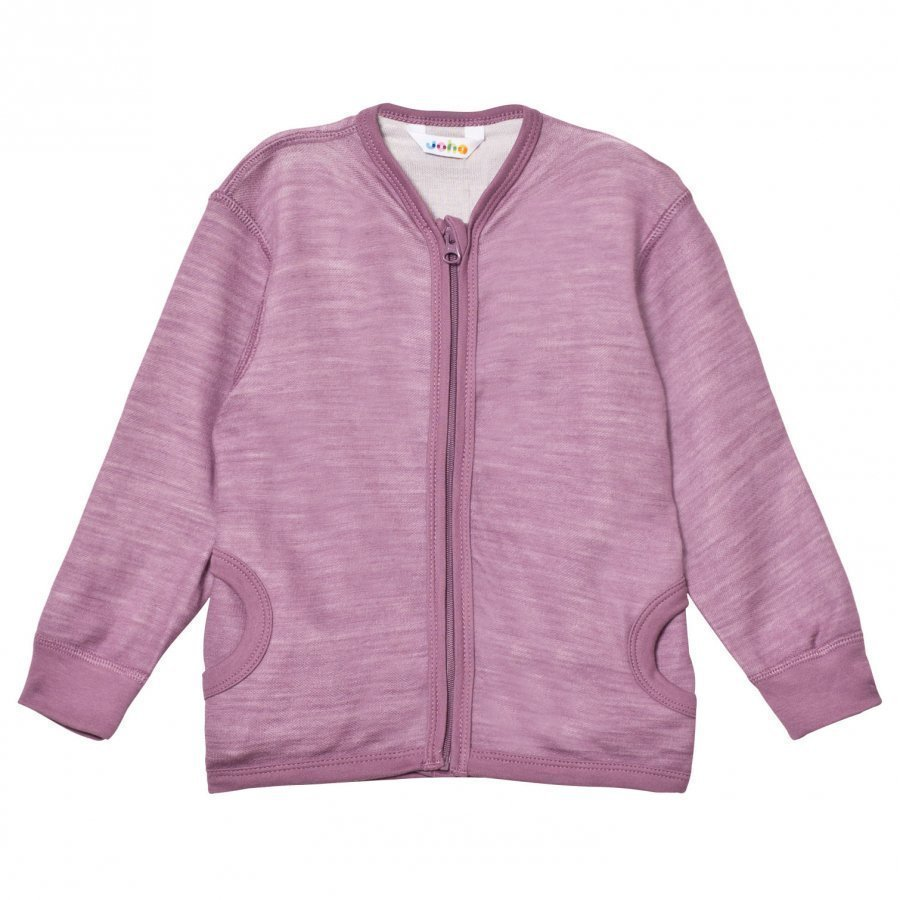 Joha Zipped Sweater Purple Neuletakki
