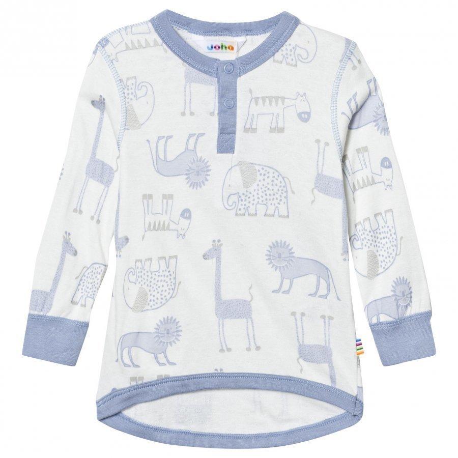 Joha Zoo Long Sleeve Tee Forever Blue Pitkähihainen T-Paita