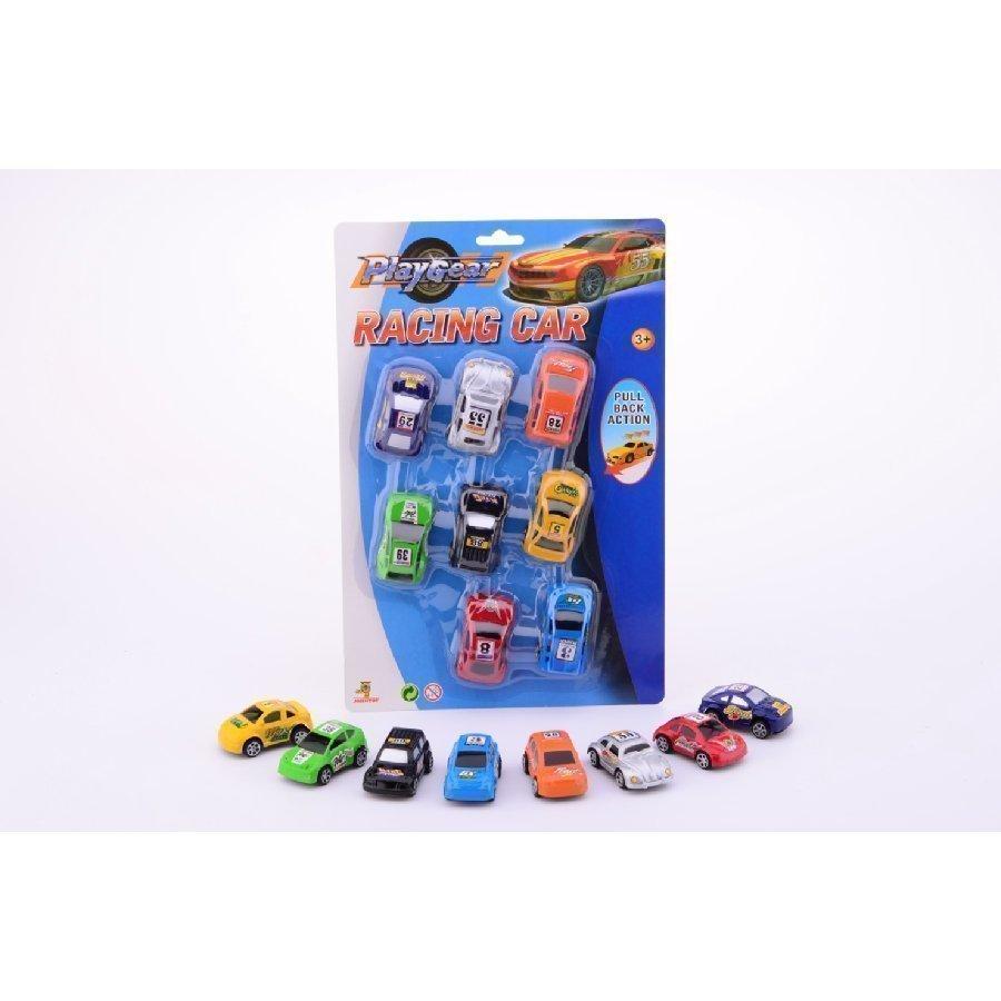 Johntoy Play Gear Kilpa Autot 8 Kpl