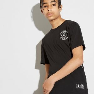 Jordan X Paris Saint Germain T-Shirt Musta