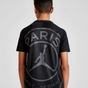 Jordan X Paris Saint Germain T-Shirt Musta