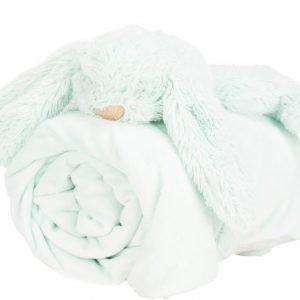 Jox Basic Vauvanhuopa ja pehmoeläin Kani Mintunvihreä