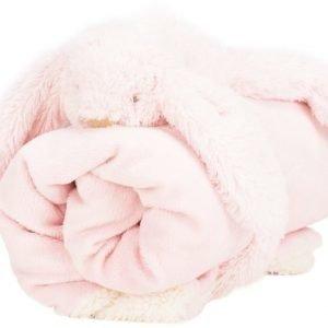 Jox Basic Vauvanhuopa ja pehmoeläin Kani Vaaleanpunainen