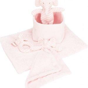 Jox Basic Vauvasetti Norsu 5 osaa Vaaleanpunainen