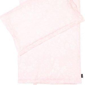 Jox Classic Pussilakanasetti 150 x 210 cm Kukallinen Vaaleanpunainen