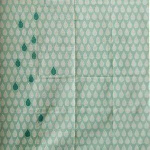 Jox Trend Puuvillamatto 130 x 180 cm Dripdrop Mintunvihreä