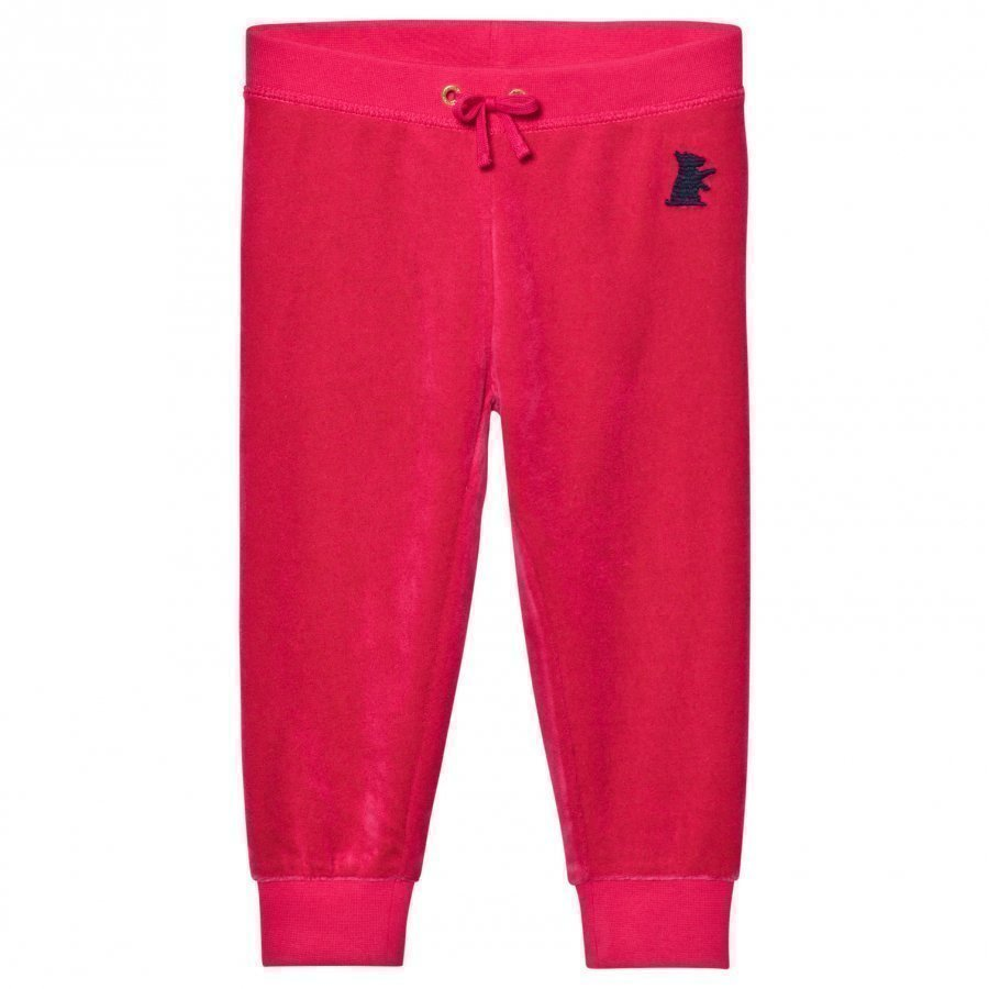 Juicy Couture Fuchsia Velour Track Pants Verryttelyhousut