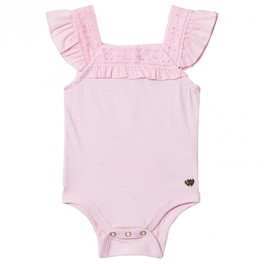Juicy Couture Pink Baby Body Flounce Body