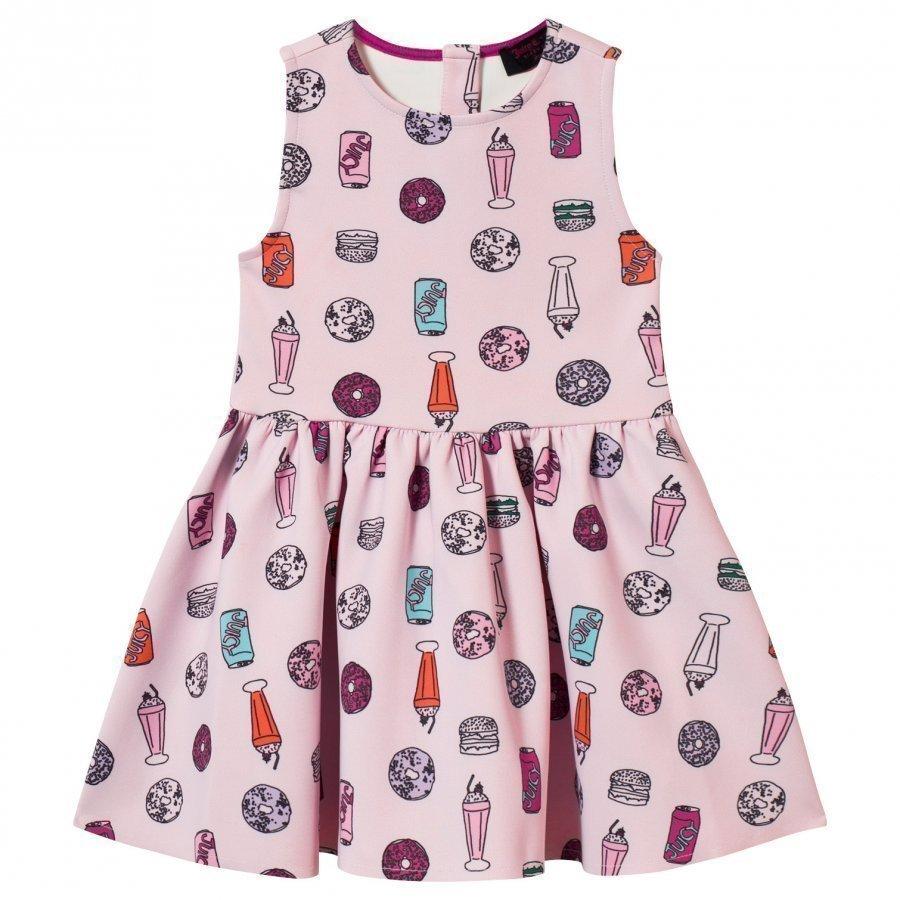 Juicy Couture Pink Juicy Treats Neoprene Party Dress Juhlamekko