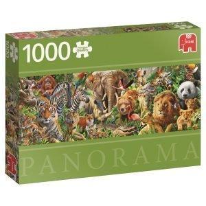 Jumbo African Wildlife 1000 Palaa Panorama
