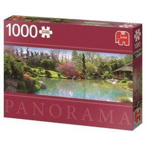 Jumbo Colourful Garden 1000 Palaa Panorama