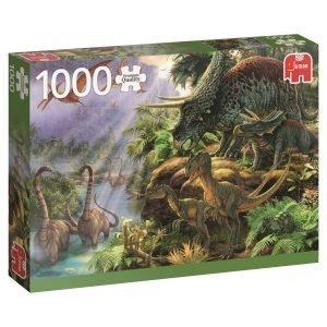 Jumbo Dinosaur Valley 1000 Palaa