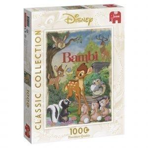 Jumbo Disney Classic Collection Bambi 1000 Palaa