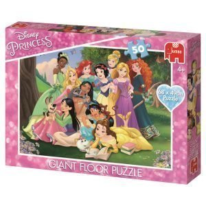 Jumbo Disney Prinsessat Lattiapalapeli 68x49 Cm / 50 Palaa
