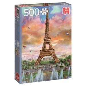Jumbo Eiffel Tower Paris France 500 Palaa