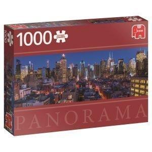 Jumbo New York Skyline Usa 1000 Palaa Panorama