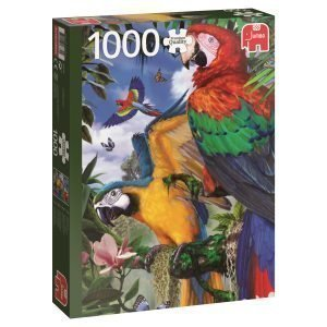 Jumbo Pretty Parrots 1000 Palaa
