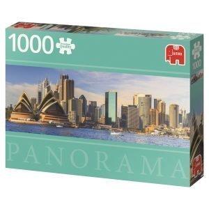 Jumbo Sydney Skyline Australia 1000 Palaa Panorama