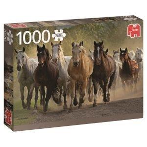 Jumbo Team Of Horses 1000 Pcs