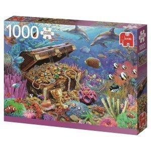 Jumbo Underwater Treasure 1000 Palaa