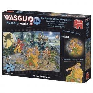 Jumbo Wasgij Mystery 14 The Hound Of The Wasgijville 1000 Palaa