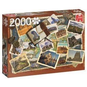 Jumbo Wonders Of The World 2000 Pcs