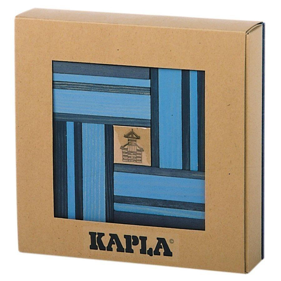 Kapla Rakennuspalikat 40 Kpl Tummansininen / Vaaleansininen