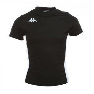 Kappa Wenet T-Shirt Tekninen T-paita Musta