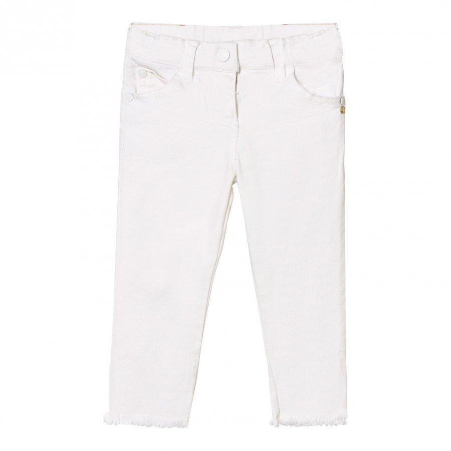Kardashian Kids White Denim Jeans Farkut