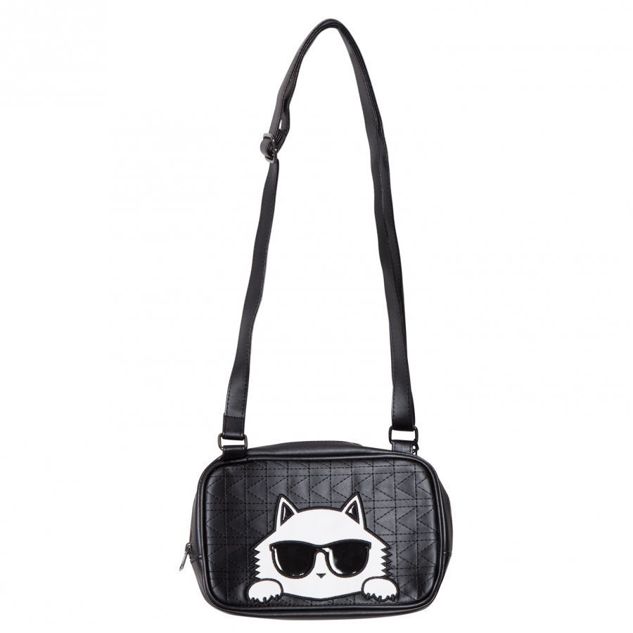 Karl Lagerfeld Kids Black Choupette Shoulder Bag Käsilaukku