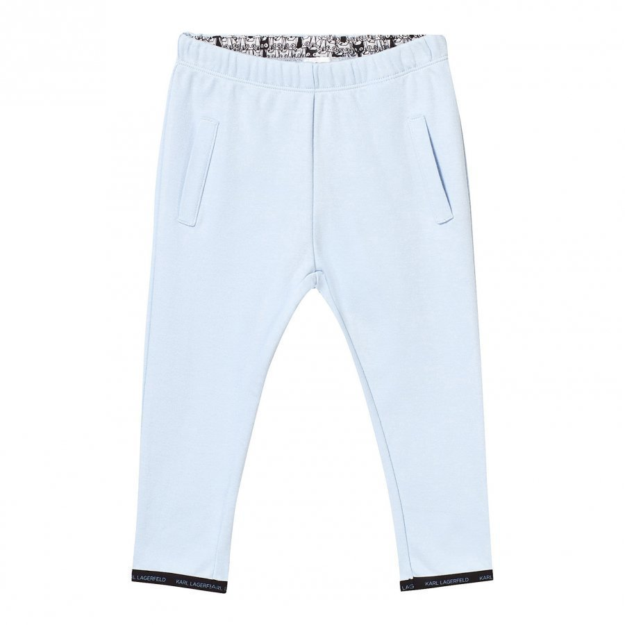 Karl Lagerfeld Kids Blue Sweat Pants Verryttelyhousut
