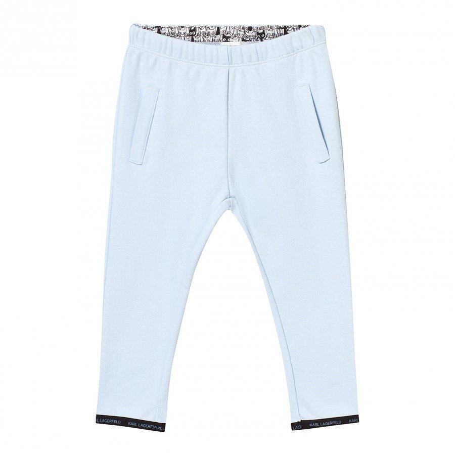 Karl Lagerfeld Kids Blue Sweat Pants Verryttelyhousut