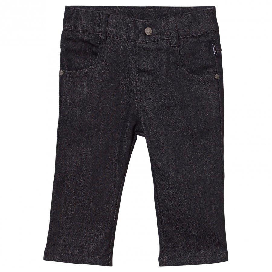 Karl Lagerfeld Kids Denim Trousers Denim Black Farkut