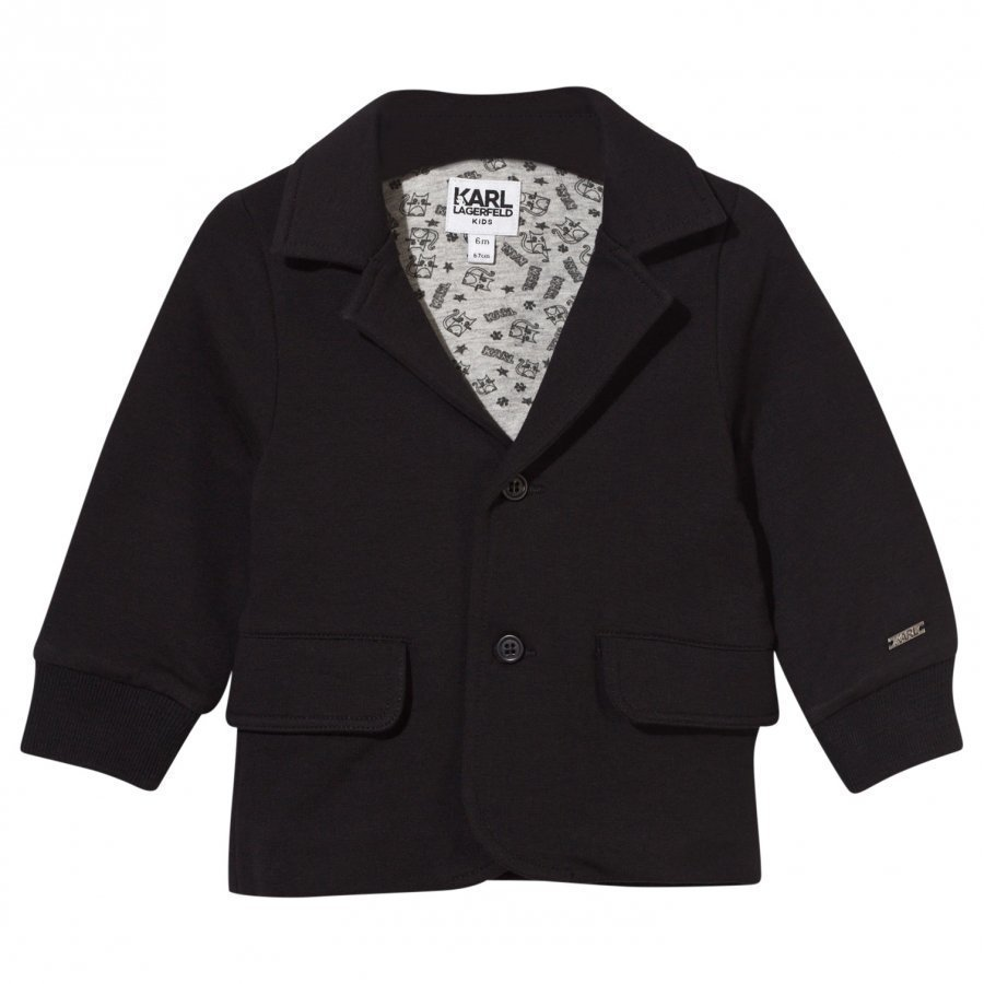Karl Lagerfeld Kids Jacket Black Bleiseri