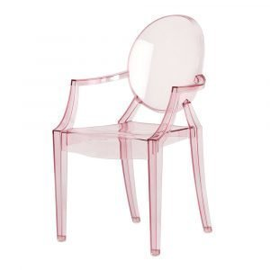 Kartell Lou Lou Ghost Baby Tuoli Roosa