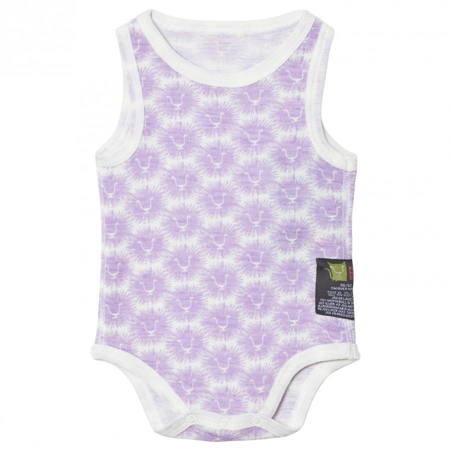 Kattnakken Wool Sleeveless Baby Body Lavender Lion Body