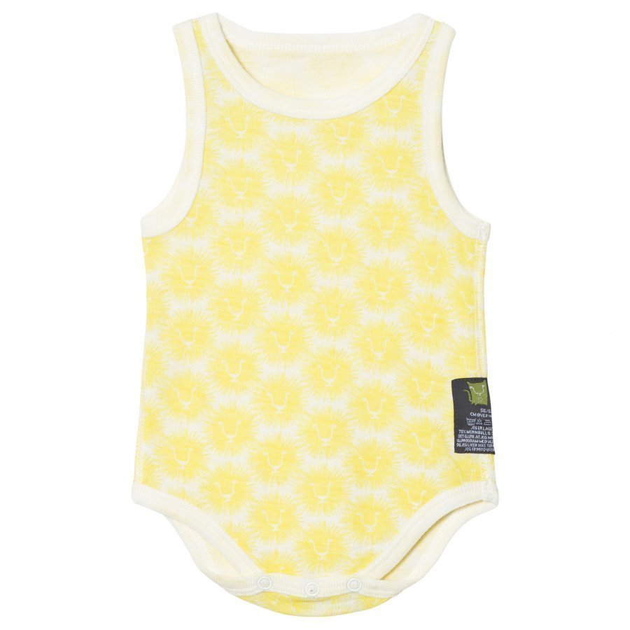 Kattnakken Wool Sleeveless Baby Body Yellow Lion Body