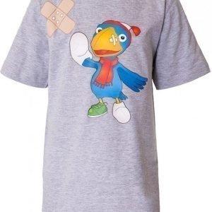 Kaupungin Sankarit T-paita Calamity Crow Harmaa