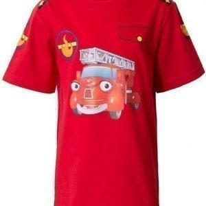 Kaupungin Sankarit T-paita Fiona Punainen