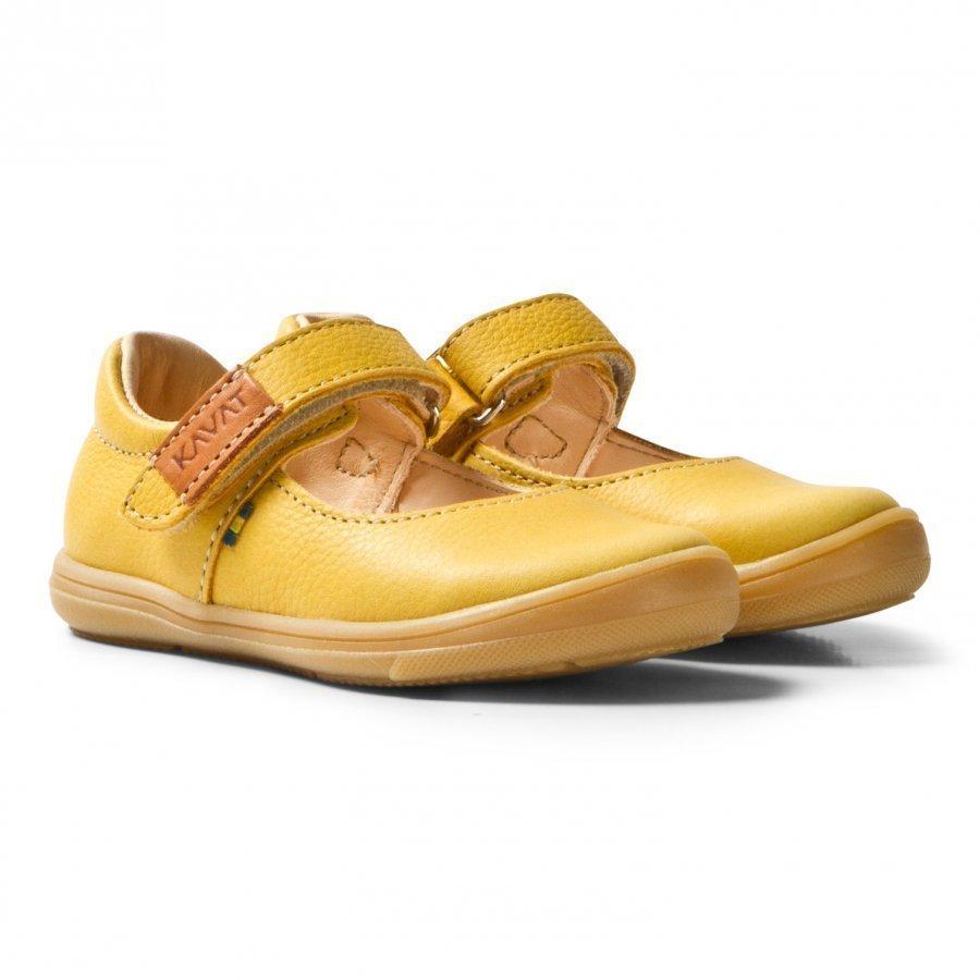 Kavat Ammenäs Ep Yellow Maryjane Kengät