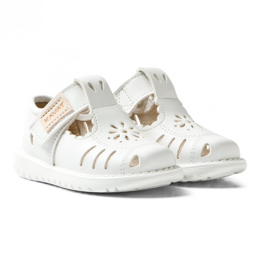 Kavat Blombacka Xc Sandals White Remmisandaalit